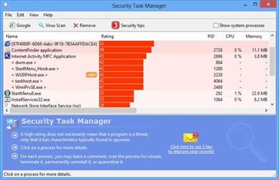 Security Task Manager 2.0 Portable Multilingual