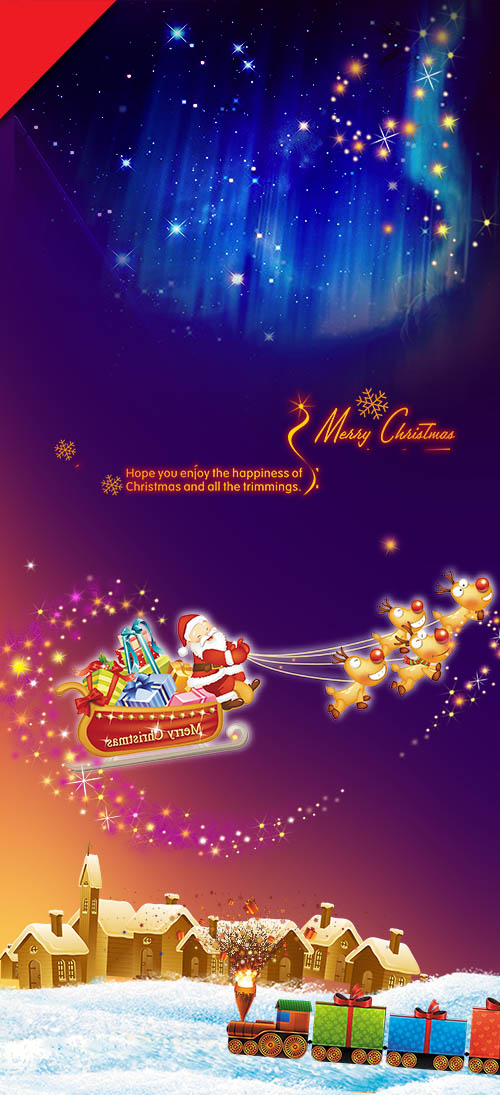 PSD Source - Christmas and New Year 2015 vol.9