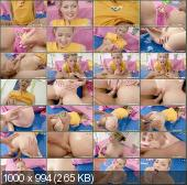 ClubSevenTeen - Abby - A Teenage Girl And Massage Oil [HD 720p]
