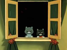 Кошкин дом (1958) DVDRip