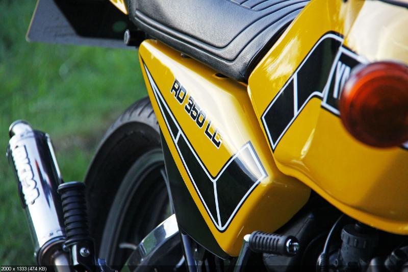 Мотоцикл Yamaha RD350LC 1981
