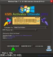 Windows Vista - 7 - 8 - 8.1 KMS Activator Ultimate 2014 2.1 2.1