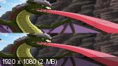 Торико: Аппетитное приключение 3D / Toriko 3D: Kaimaku! Gurume adobencha!  Вертикальная анаморфная