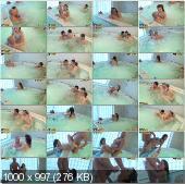 CollegeFuckParties - Aspen, Kveta, Taya - Naked Girls Party In A Sauna Part 11 [HD 720p]