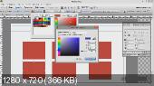 Создание сайтов без знаний HTML и CSS в Adobe Muse (2014) Видеокурс