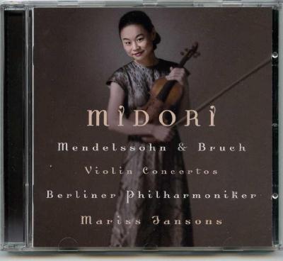 MIDORI (violine) – Felix Mendelssohn, Max Bruch (Berliner Philharmoniker, Mariss Jansons)/ 2003 Sony Music Entertainment