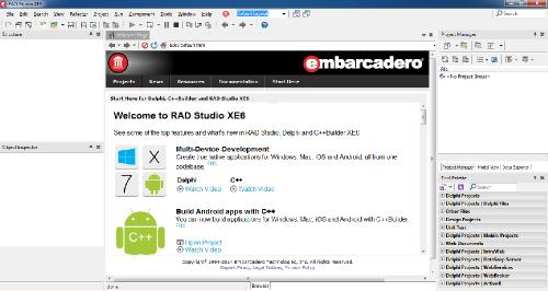 Embarcadero RAD Studio XE6 Update 1 Architect