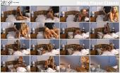 Красотка блонди и её парень сняли своё интим видео
