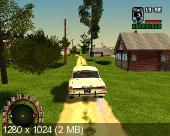 GTA / Grand Theft Auto: San Andreas - Criminal Russia (2005) PC