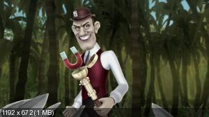 ����� ��������: ����� � ��������� ������ / Monster High: Escape from Skull Shores (2012) BDRip-AVC | DUB | ��������