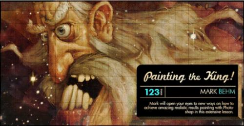 Pencil Kings - Painting the King with Mark Behm