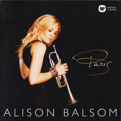 Alison Balsom (trumpet) – Paris / 2014 Warner Classics