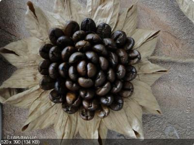 Цветы из кофейных зерен и шпагата – мастер-класс    Dde23b51957583a57e6fc71e30de386b