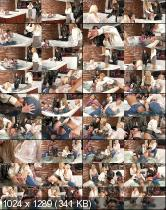 Nikky Thorne, Christen, Vivien Bell, Akasha Cullen - Soaking The Rich: Whirlpool Pussies Christen and Vivien Bell vs. Prettied Up Akasha Cullen & Nikky Thorne - Lezboxx/SinDrive (2014/UltraHD)