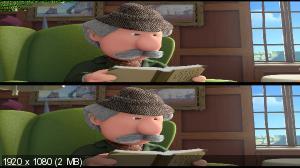 Почтальон Пэт в 3Д / Postman Pat: The Movie 3D (Лицензия by Ash61) Вертикальная анаморфная