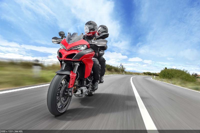 Новый туристический мотоцикл Ducati Multistrada 1200 2015