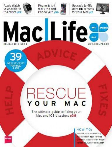 MacLife USA Magazine Holiday 2014