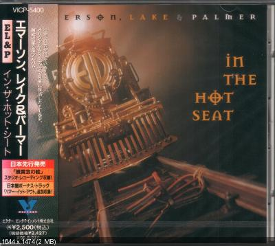 Emerson, Lake & Palmer - In The Hot Seat (1994) [Japan VICP-5400]