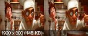 Рататуй / Ratatouille (2007) BDRip 1080p   3D-Video   HSBS   60 fps