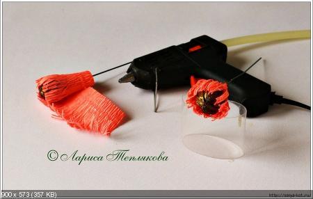 Цветы из гофрированой бумаги 28819503be056d5af2201ac45848002d