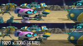 Болт и Блип спешат на помощь 3Д / Bolt & Blip: Battle of the Lunar League 3D Вертикальная анаморфная