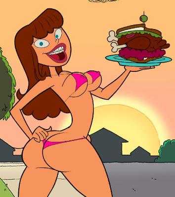 Compilation American Cartoon Chicks and MILFs