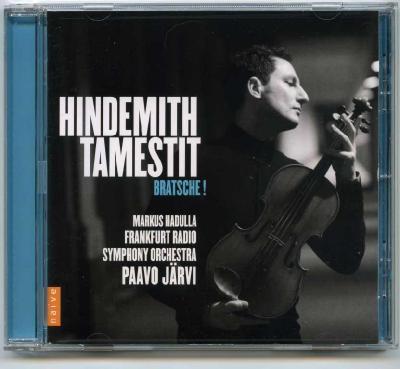 Antoine Tamestit (viola) – Paul Hindemith / 2013 Naive