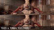 Семейка монстров в 3Д / The Boxtrolls 3D Вертикальная анаморфная
