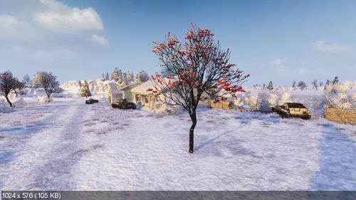 World of Tanks - Winter mod (2014) PC