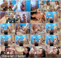 StudentSexParties - Natasha, Olesja, Cloe - Drunken Chicks Love Partying Part 4 [SD]