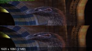 Лондонский Музей естествознания вживую 3Д / Natural History Museum Alive 3D Вертикальная анаморфная