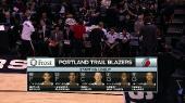���������. NBA 14/15. RS: Portland Trail Blazers @ San Antonio Spurs [16.01] (2015) WEB-DL 720p | 60 fps