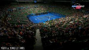 Теннис. Australian Open 2015. 1-ый круг. Марсель Ильхан (Турция) - [4] Стэн Вавринка (Швейцария) [20.01] (2015) HDTV 1080i