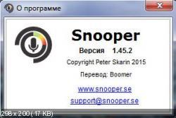 Snooper 1.45.2 (Русификатор)