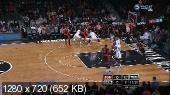 ���������. NBA 14/15. RS: Toronto Raptors @ Brooklyn Nets [30.01] (2015) HDTVRip 720p | 50 fps