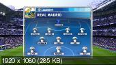 Футбол. Чемпионат Испании 2014-15. 21-й тур. Реал Мадрид - Реал Сосьедад [31.01] (2015) HDTVRip 720p | 50 fps