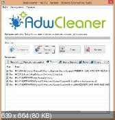 AdwCleaner 4.112 - уничтожение нежелательных панелей в обозревателях интернет