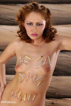 Sexy pierced Amazon