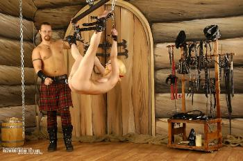 Pegged in the air